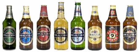 Russia-Baltika (bottles)